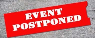 POSTPONED Events & Meetings