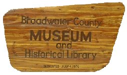 Broadwater County Museum Open