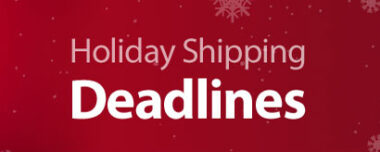 Christmas Mailing Deadlines