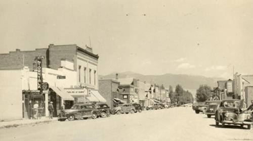 Main St Townsend 1940s 600